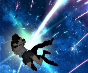 anime, movie, and your name image