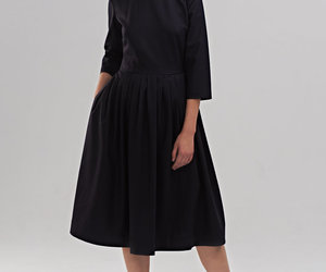 etsy, pleated skirt dress, and mrspomeranz image