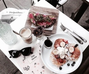 food, breakfast, and style image