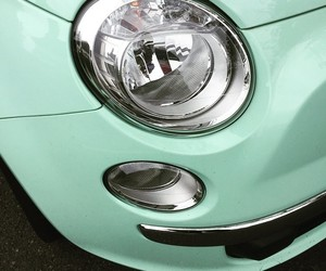 cars, green, and mint image