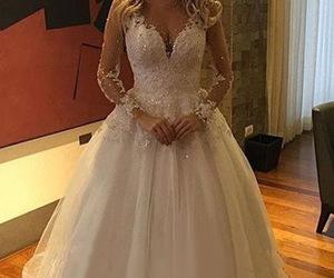 bridal gown, princess wedding dress, and sexy wedding dresses image