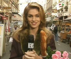 aesthetic, cindy crawford, and girl image
