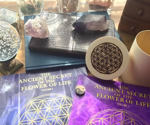 artist, sacred geometry, and flower of life image