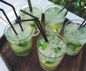 drink, summer, and mojito image