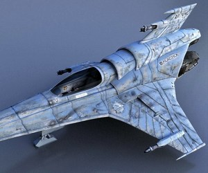 battlestar galactica, viper, and colonial mk vii image
