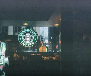 starbucks, coffee, and photography image