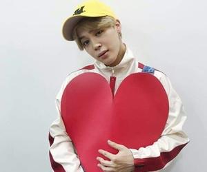 heart, love, and jimin image