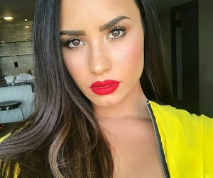 demi lovato and makeup image