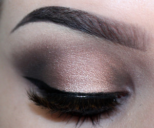 makeup, maquillaje, and brows image