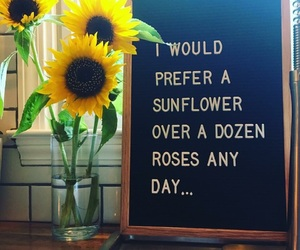 always, I would, and sunflower image