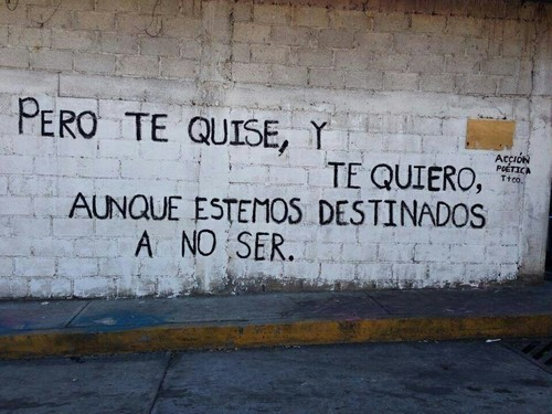 love, frases, and accion poetica image