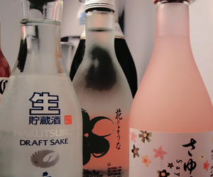 sake, drink, and japanese image