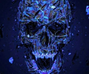 awesome, glass, and skeletons image