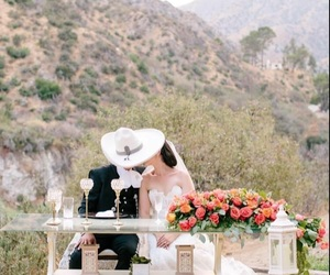 couples, flowers, and mexico image