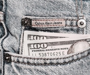 jeans, money, and washed image