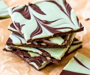 chocolate and mint image
