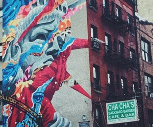 nyc, street art, and vsco image