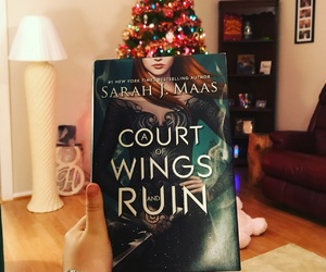 books and a court of wings and ruin image