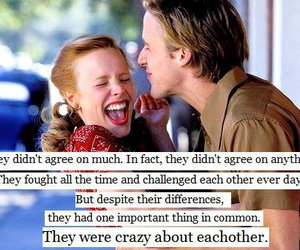 love, the notebook, and quote image