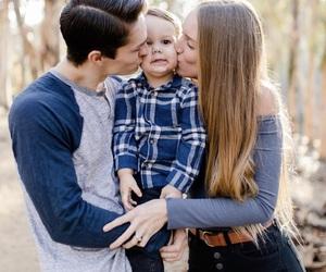 boy, family, and girl image