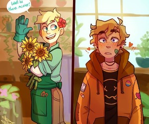 butters and kenny image