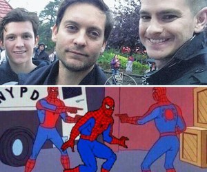 funny, Marvel, and tom holland image