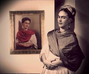 Frida, frida kahlo, and Painter image
