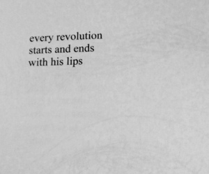 books, lips, and literature image
