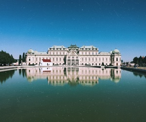 architecture, baroque, and wien image