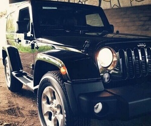black, car, and jeep image