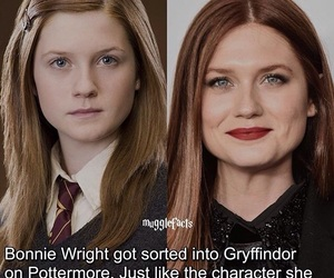 always, bonnie wright, and ginny image