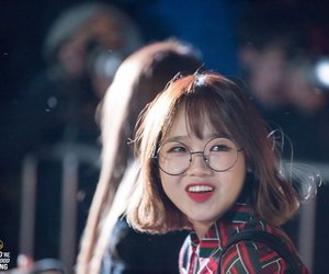 glasses, short hair, and yoojung image