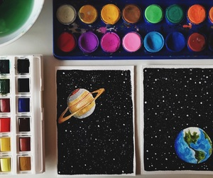 earth, Earth Art, and planets image