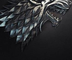 game of thrones and house stark image