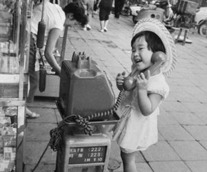 vintage, black and white, and japan image