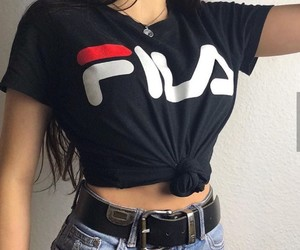 fashion, Fila, and style image
