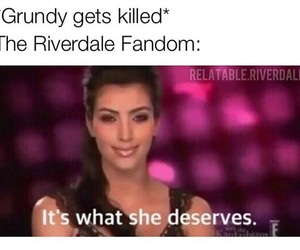 funny, meme, and riverdale image
