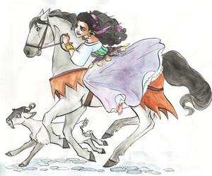 disney, esmeralda, and gypsy image