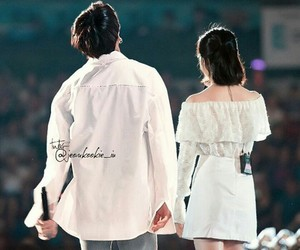 couples, korean, and kpop image