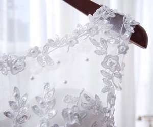 bridal, fashion, and lace image