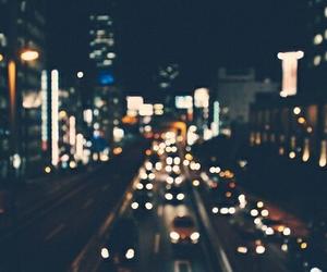 city, lights, and random image