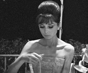60s, audrey hepburn, and film image