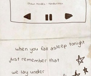 shawn mendes, never be alone, and Lyrics image