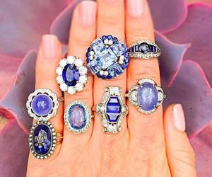 jewelry, rings, and vintage jewelry image
