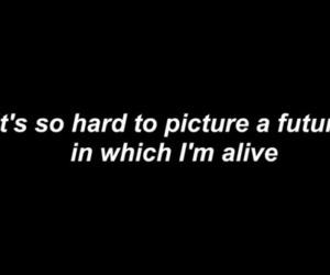 broken, depression, and lost image