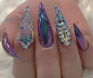 nail art, nails, and naild image