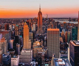 america, buildings, and empire state building image
