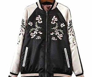 Amazon, bomber jacket, and fashion image