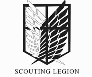 shingeki no kyojin, attack on titan, and scouting legion image