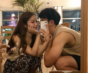 couple, selfie, and cute image
